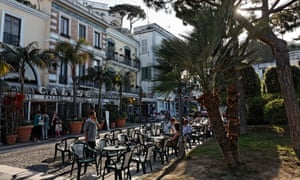 Cafes in southern Italy.