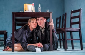 Brian Vernel (Konstantin) and Lesley Sharp (Irina) in The Seagull.
