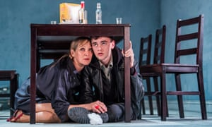 Lesley Sharp and Brian Vernel in The Seagull at the Lyric, Hammersmith