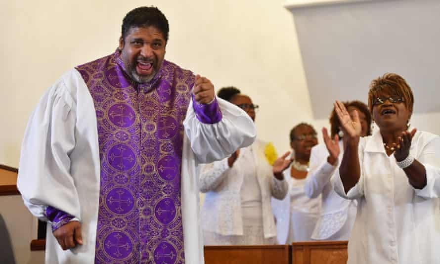 Barber is the longtime pastor of Greenleaf Christian Church in Goldsboro, North Carolina, and a leader of the new Poor People's Campaign.