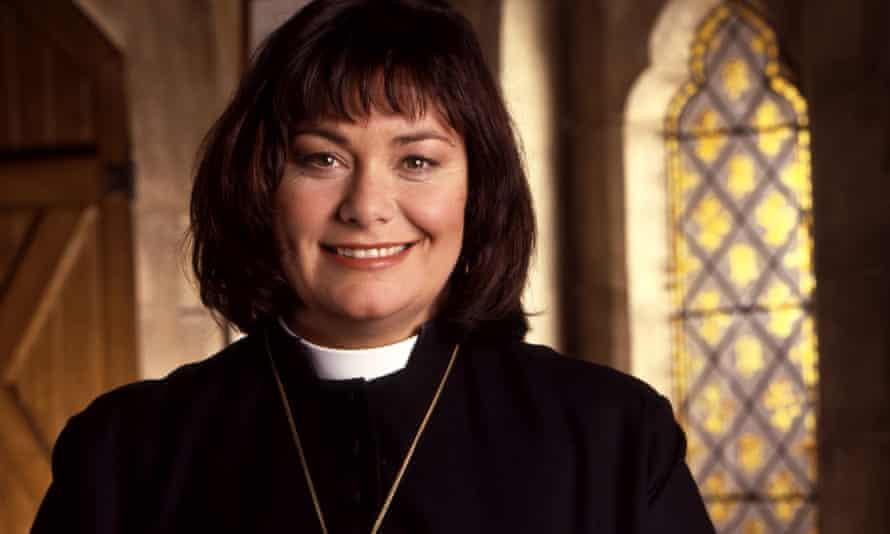 Praise be ... Dawn French as Rev Geraldine Granger in The Vicar of Dibley.