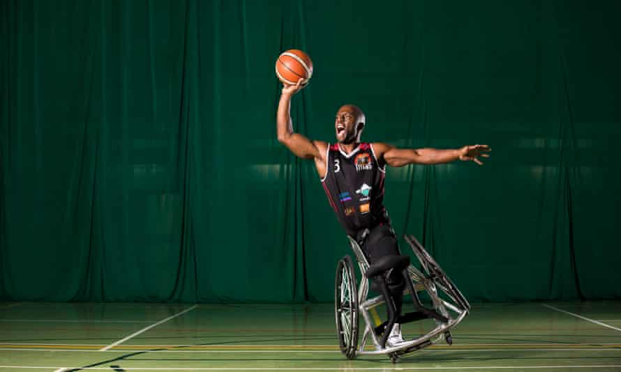 Tyler Saunders: 'Wheelchair basketball is the same as the running game in almost every way.'