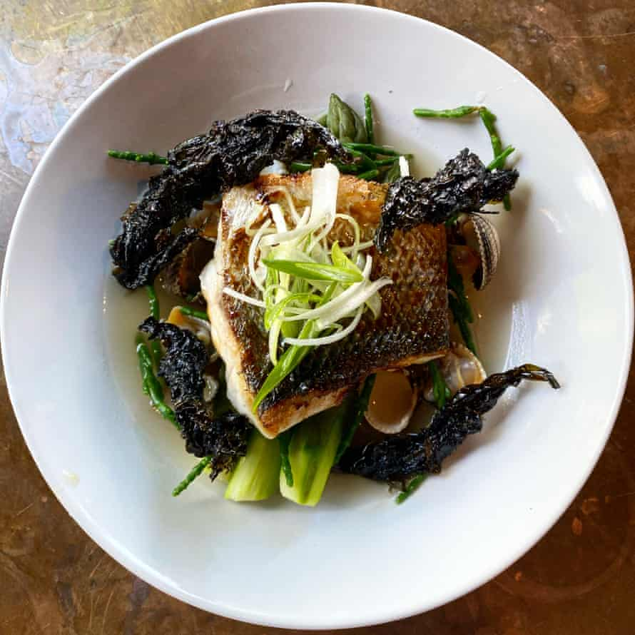 Fishy fine dining at Môr restaurant, Mumbles