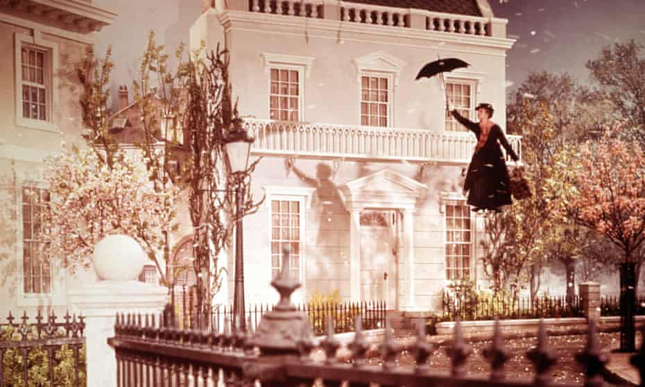 Julie Andrews in the 1964 film Mary Poppins.