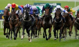 Buffer Zone, blue and white colours, was a convincing winner at the Curragh last week.