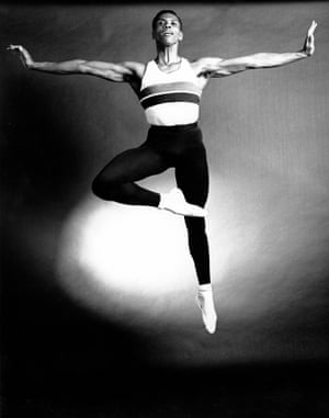 Mitchell (pictured here in 1963) would go on to co-found Dance Theater of Harlem