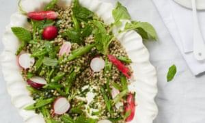 Olia Hercules' buckwheat and smashed herb salad.