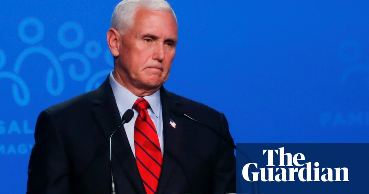 Mike Pence: media's focus on Capitol attack is attempt to distract from Biden failures