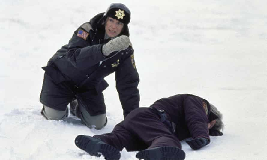 McDormand as Marge Gunderson in Fargo, for which she won her first best actress Oscar.