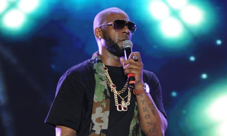 R Kelly performing in March 2015.