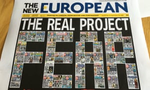 The New European is one of Archant's numerous titles.