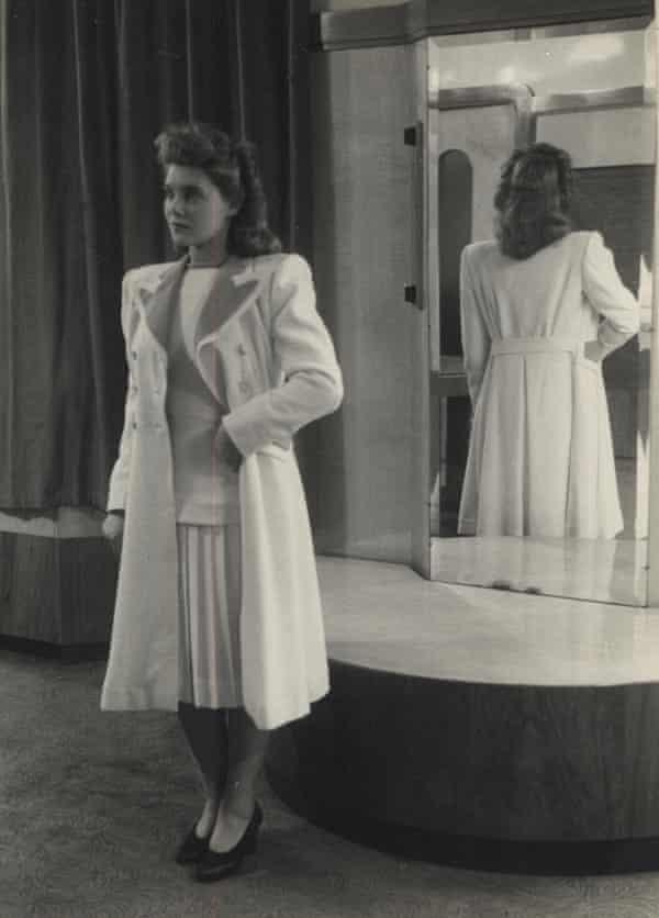 Doreen Fletcher in a glamorous three-piece suit.