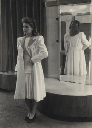 Doreen Fletcher in a glamorous three-piece suit.