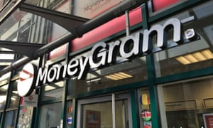 A MoneyGram office in Frankfurt, Germany