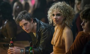 Juno Temple with Mick Jagger's son James in Vinyl