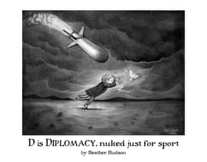 D is for Diplomacy, nuked just for sport