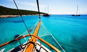 Traditional Turkish Sailing cruisers