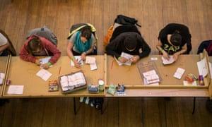 The Cambridge vote count
