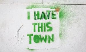 Stencil graffiti in Split, Croatia