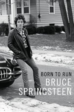 The cover of Springsteen's new memoir