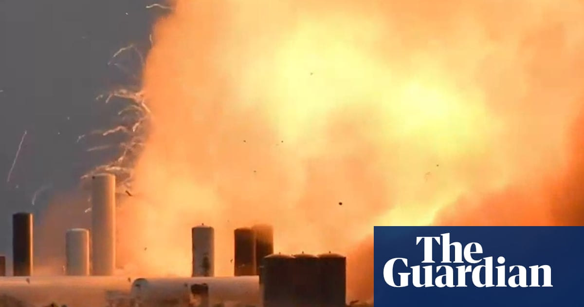 SpaceX's Starship rocket prototype explodes during test