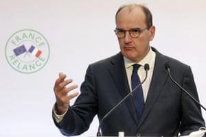 French prime minister Jean Castex.