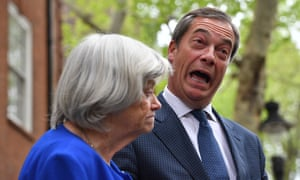 Nigel Farage with Ann Widdecombe