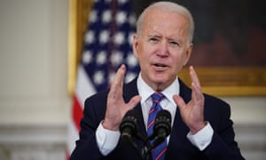 The letter to Biden said: 'We cannot unsee the horrific violence that unfolded in recent weeks in Israel/Palestine'.