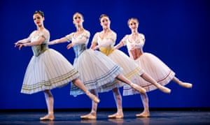 A scene from Napoli from the Bournonville Celebration by Royal Danish Ballet.