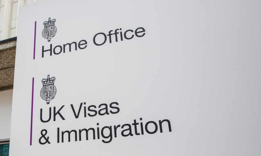 board for Home Office Visas and Immigration office