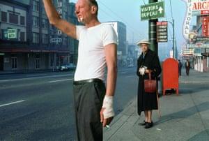 Man with bandage, 1968