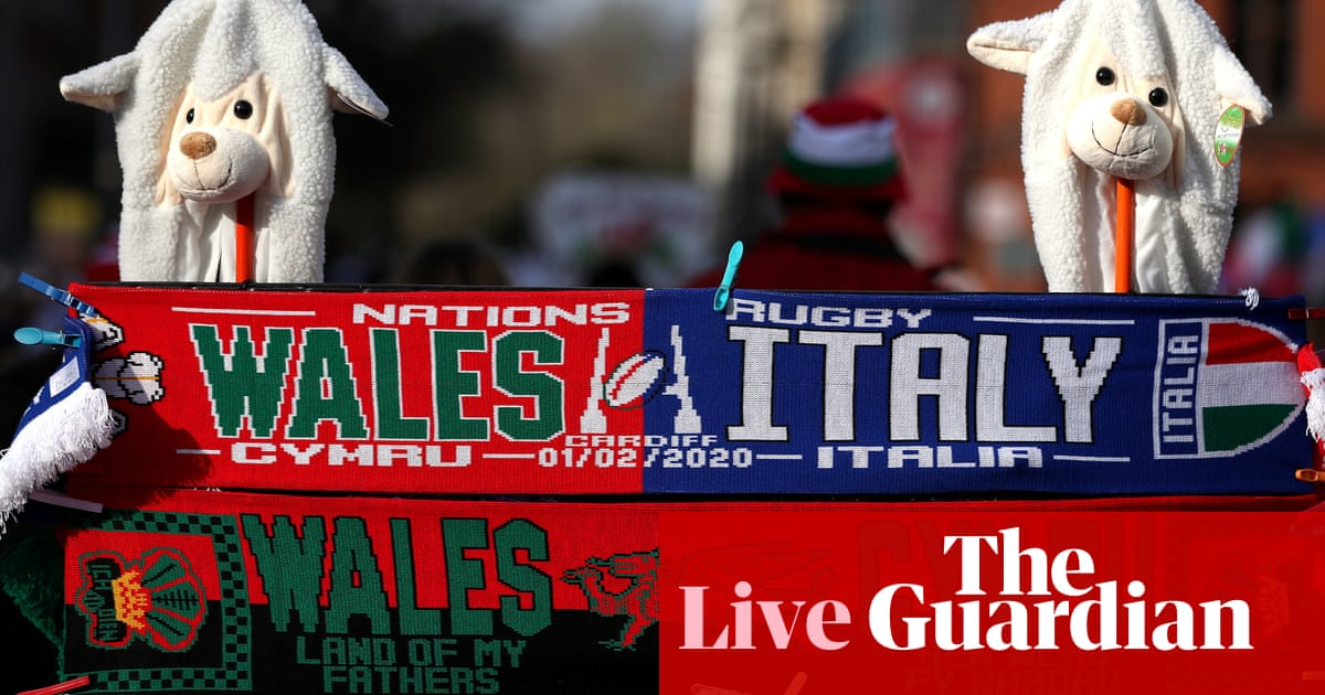 Six Nations 2020: Wales v Italy – live!