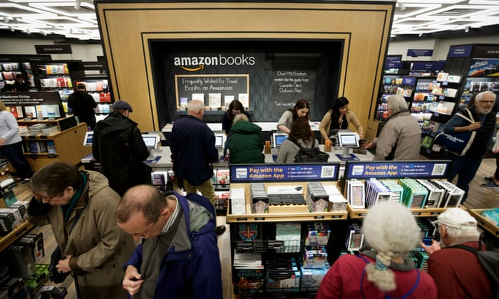 Amazons first new york bookstore blends tradition with technology amazons first new york bookstore blends tradition with technology technology the guardian fandeluxe Gallery