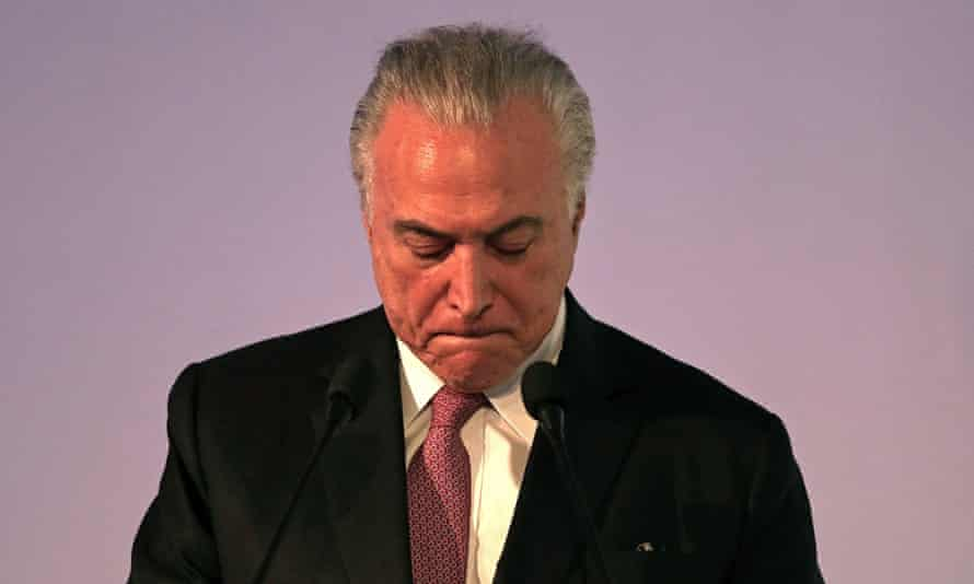 Michel Temer pushed through a series of unpopular austerity measures.