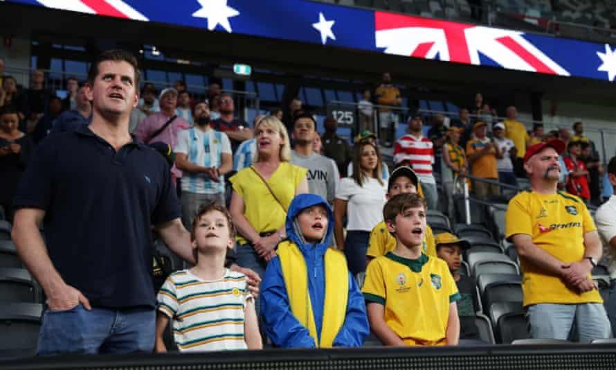 Australian rugby fans
