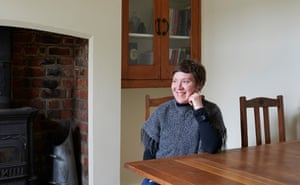 Lynsey Hanely at home in Liverpool, 2016