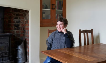 Writer Lynsey Hanley at home in Liverpool.