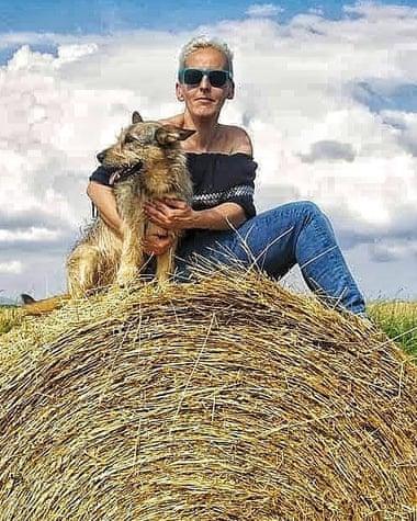 Laura Serrano Isla, who has a flock of 650 sheep near Burgos. Photograph: Laura Serrano Isla