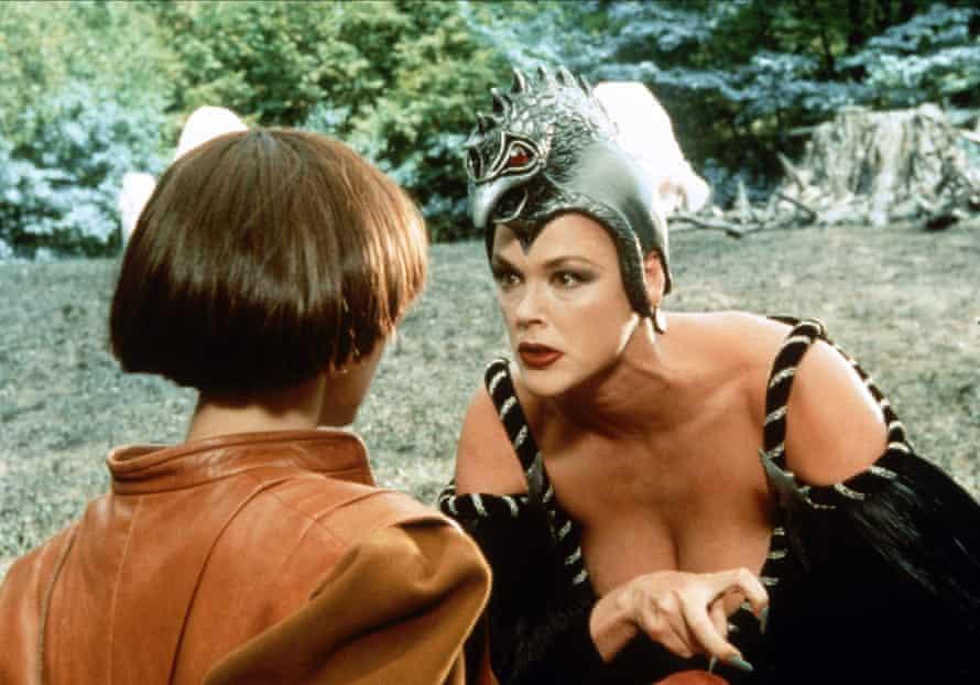 Nielsen as Strega Nera in the 1991 film Fantaghirò 2 (1991), directed by Lamberto Bava.