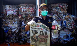 Australia's waste industry says governments must invest in recycling manufacturing after Indonesia announced it would return 210 tonnes of rubbish.