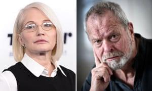 Ellen Barkin and Terry Gilliam.