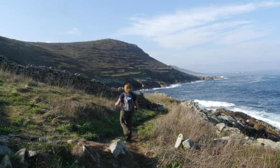 Walking Camiño dos Faros, Galicia , Spain