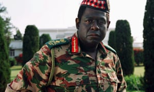 Forest Whitaker as Idi Amin in the film version of The Last King of Scotland (2006).