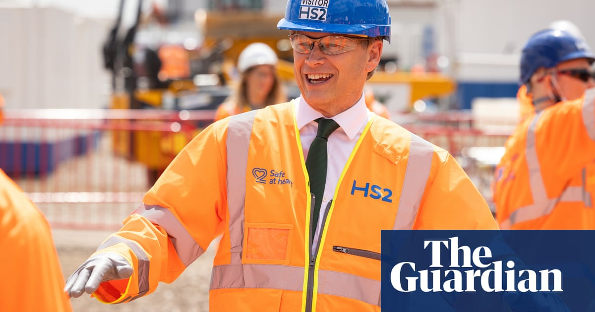 The Ozymandian reason that we cannot stop HS2