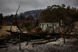 Cascade Ranch after the fire.