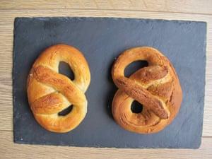Julia Moskin's pretzels.