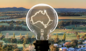 'How about a goal to double the population of regional Australia by 2030?' Composite: Jacob Taylor/Getty