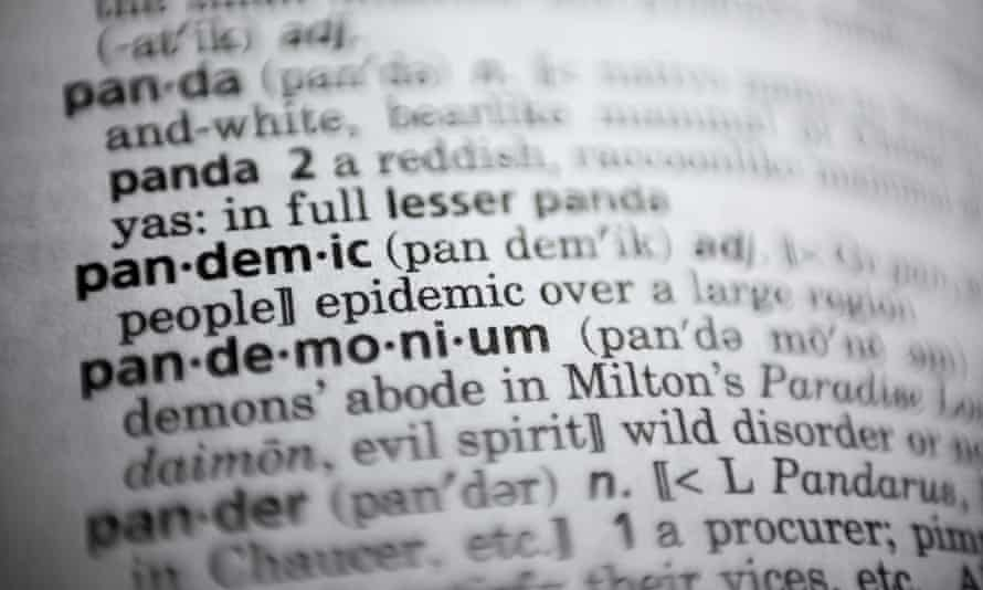 Pandemic 'probably isn't a big shock', said Peter Sokolowski, editor at large for Merriam-Webster.
