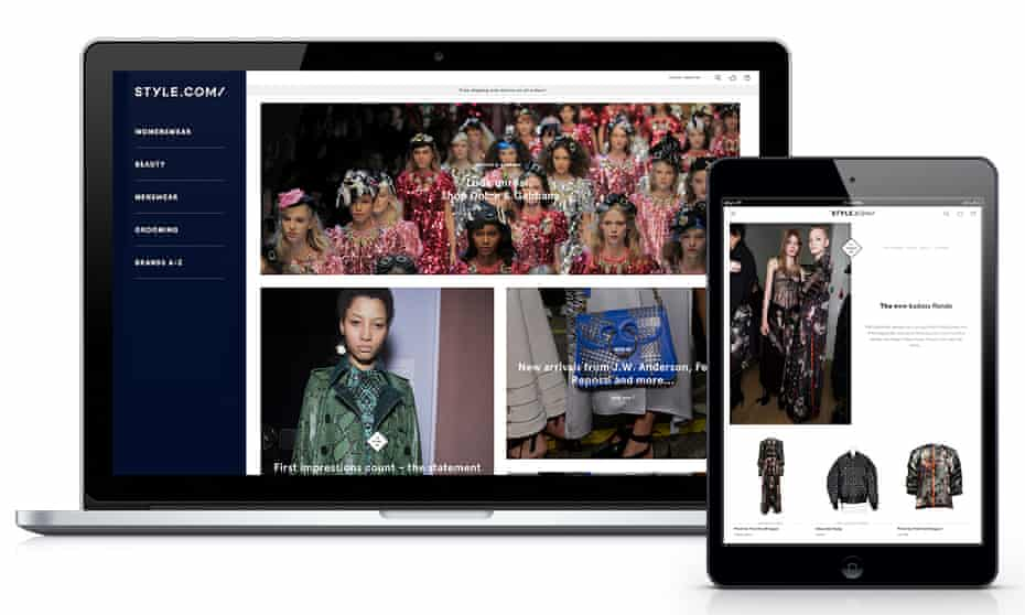 Condé Nast is taking on the likes of Net-a-Porter with the launch of Style.com.