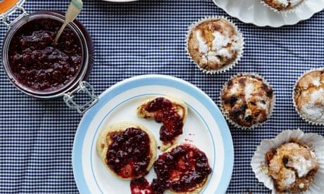 Scotch pancakes and raisin bun recipes your kids can make